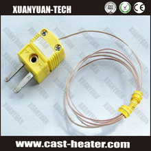 Mini type thermocouple connectors