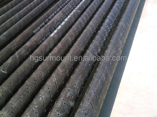 API 5CT Slotted Casing Pipe for Borewell, Laser Cutted, Seamless or ERW, Manufacture direct supply