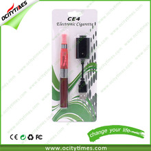 top selling 1100mah ego battery/ e cigarette ce4 clearomizer /ego ce4 atomizer coil head