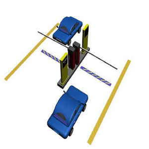 Hot selling smart road safety barrier for car parking lot management systems User-Friendly Parking guidance system