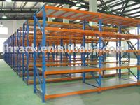 warehouse storage light goods on longspan racking and shelf