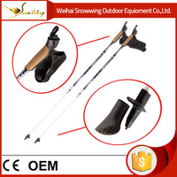 nordic 1 section carbon fiber walking cane gun canes and walking sticks grip for old people