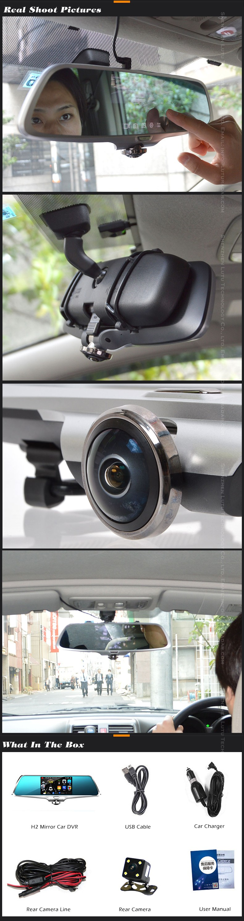 Japan WDR 1080P User Manual Car Camera Full HD DVR Video Recorder v