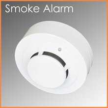 Commercial Building Conventional Photoelectric Smoke Detector 12V 24V wired system detector