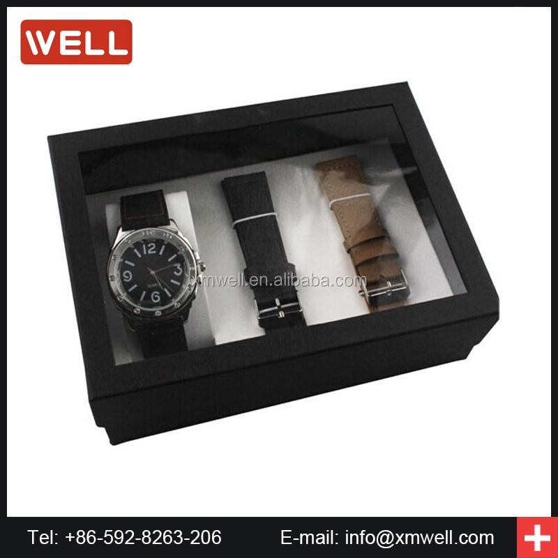 2017 luxury changeable strap watch set