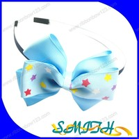 2015 girls fashion headband hair bow holders wholesale