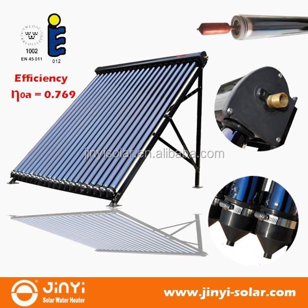 En12976 500l compl te sous pression tube vide chauffe for Chauffe eau solaire sous vide