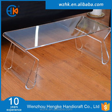 Modern Clear Acrylic Hot Bending Coffee Table