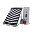 Heat pipe solar collectors solar heating system for house