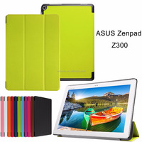 Case for Asus Zenpad 10 Z300, Auto Sleep Wake Magnetic Ultra Slim Smart Tablet Case Multi-folding Stand Leather Case Cover