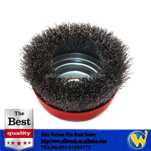 Steel Crimped Wire Cup Wheel Rust Removal Cleaning Brush