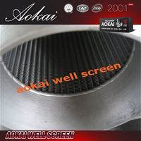 Promotion well screen E503 metal mesh filter tubes