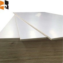 best prices one side double side white melamine plywood