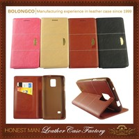 Best Choice! High-End Handmade Flip Case For Samsung Galaxy Mega 5.8