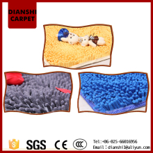 Washable Luxury Microfiber Chenille Bath Rug Machine Printing Rug