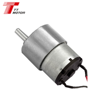 12V RATIO 1/6 BEST top quality dc motor gm37-520tb dc electric motor