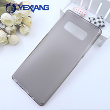 High Quality Soft Gel Jelly Case Matte TPU Back Cover for Samsung galaxy Note 8