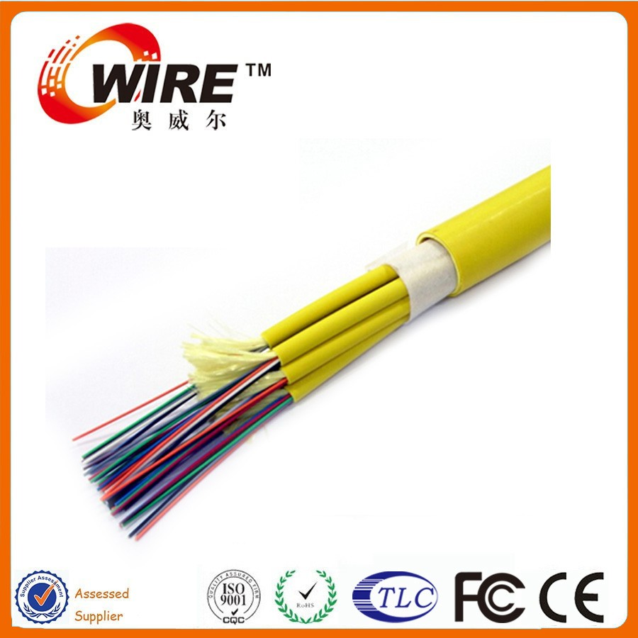 Owire Multi-Fiber Optical fiber Indoor GJBFJV Breakout tight buffer optical fiber cable