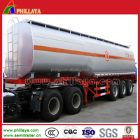Hot phillaya 50000L gasoline tanker truck capacity /oil tanker truck,japan tanker truck semitrailer for middle-east and africa