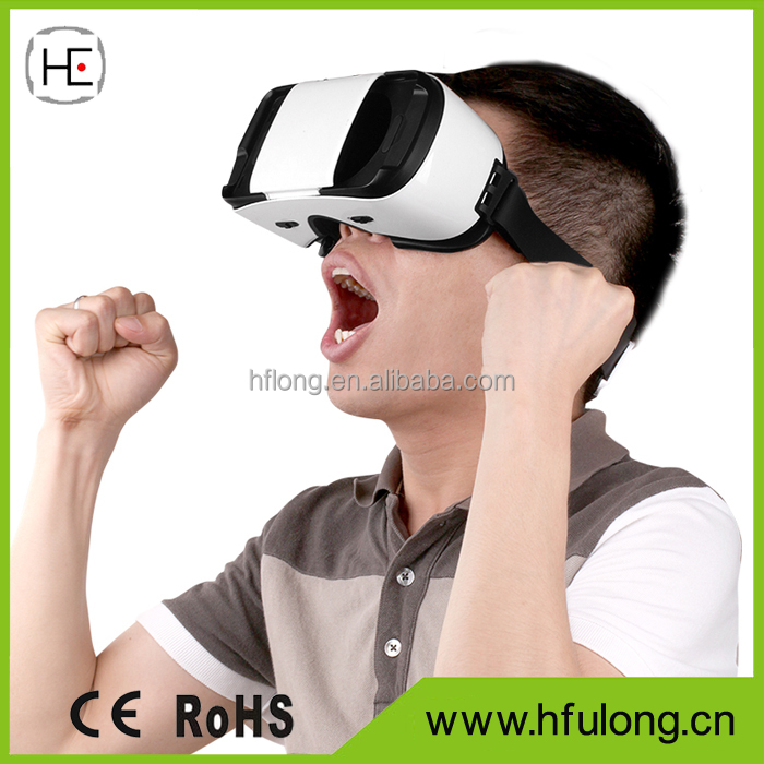 "Virtual Reality Headset VR Box Video Game 3D Glasses Head Mount Display For 4.7""-6.0"" Android Or IOS"