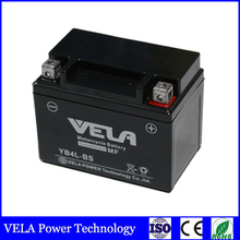chinese motorcycle parts YB4L-BS Wet charged maintenance free battery