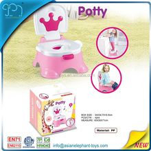 Baby Pot For 2017 New Baby Products Plastic Chamber Pot With Music