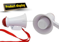 Wholesales Customized Colors ABS 5W Horn Loudspeaker Cheerleading Fan Horn Promotional Use In Activities