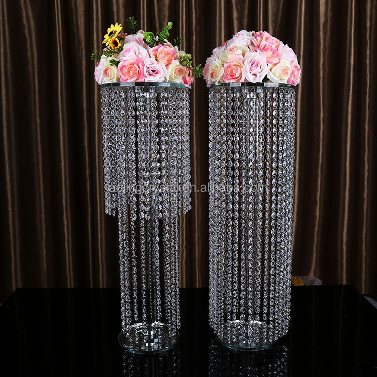 Factory direct sale high safety wedding floor flower stand decoration from China