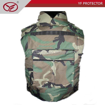 concealable bulletproof vest/aramid vest/used level 3 army bulletproof vest