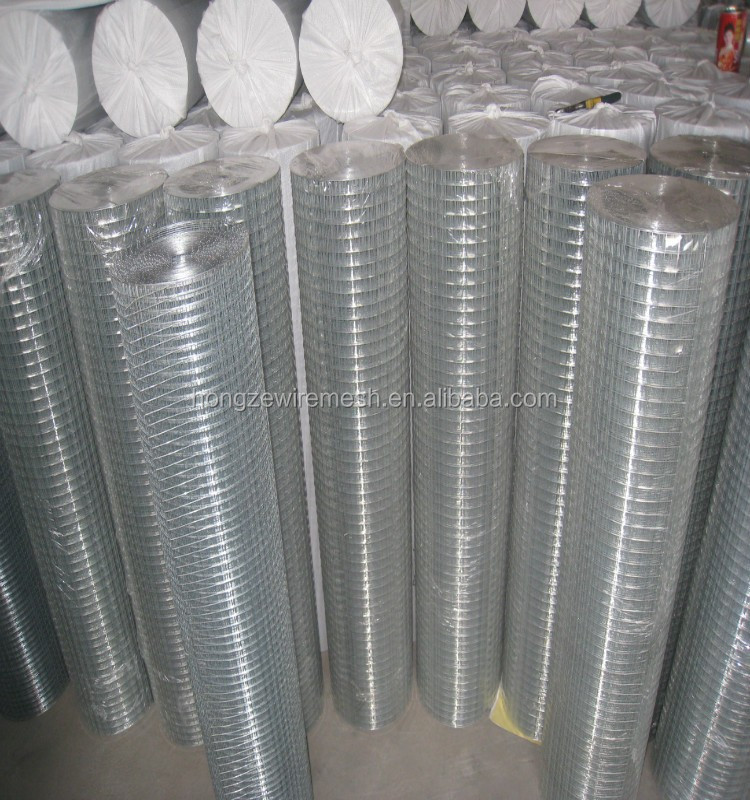 "galvanized welded wire mesh 1/2"" x 30m x 8kg roll to thailand"