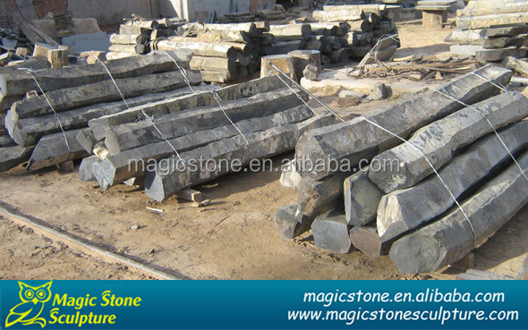 stone decorative outdoor pillar for sale