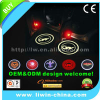 Liwin brand 10% off price 12v 3w 5w lighted car emblem for Fuga car 4x4 accessory