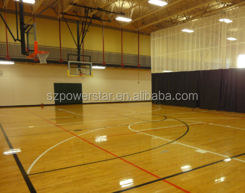 Simple Color embossed PVC Flooring For Basketball court