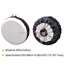 Durable Waterproof Oxford 300D Dustproof Tire Storage Bag RipstopTire Cover