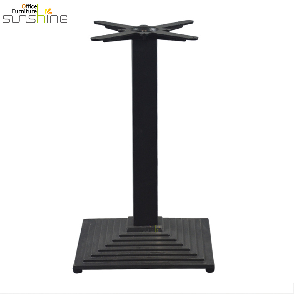 Arrow stepped metal dinning table legs