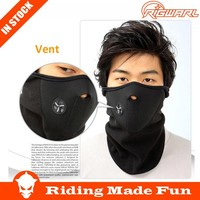 RIGWARL Half Face Fleece Neoprene Warm Face Mask For Motorcycle and bicycle