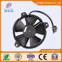 Brush radiator cooling axial fan for toyota vios