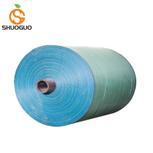 Colored raffia plastic woven sheet pp bag roll polypropylene woven fabric