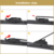 High quality hybrid wiper blade with multiple adaptors,rain wiper