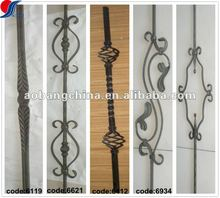 forged wrought iron railing parts