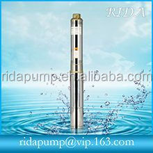 Centrifugal submersible pump for gas station oil pumping