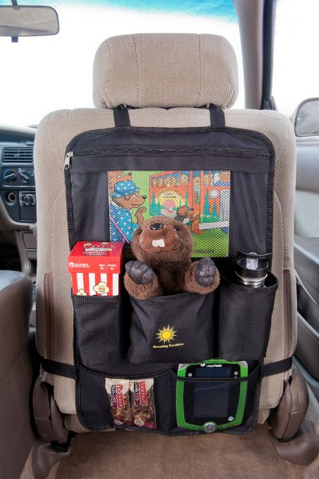 Toy Car Back Seat Organizer : Backseat car organizer seat toy kids