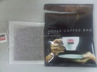 three in one instant coffee powder filter paper bag with cotton thread and tag packing machine