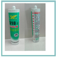 Silicone Sealant Strong Bond Glue Adhesive Clear Transparent All Purpose