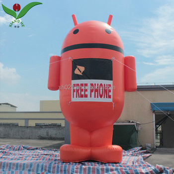 Promotion event Android model giant inflatable advertising cartoon
