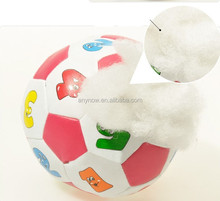 Superior soft PU lovely cotton baby small toy number ball