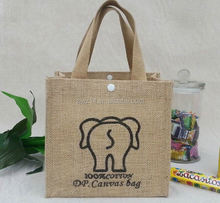cheap custom cheap recycle packaging jute bag for coffee