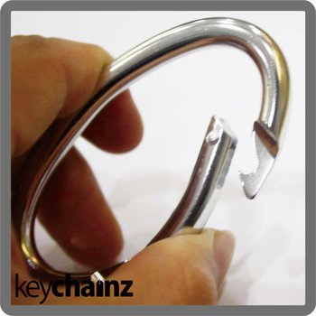 Oval Shape Promotional Carabiner Hook