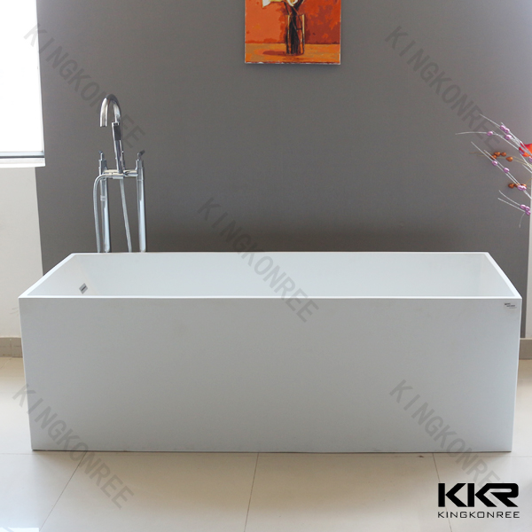 Kingkonree factory egg shape free standing bath up