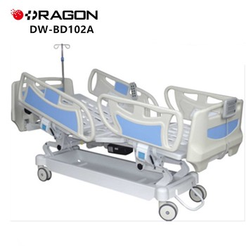 DW-BD102A electric 5 cranks adjustable nursing hospital bed accessories